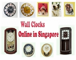 List of Wall Clocks available Online in Singapore
