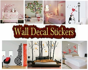 List of Wall Decal Products