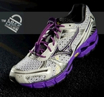 Lock Laces Shoe Lacing System (Purple Color)