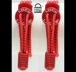 Lock Laces Shoe Lacing System (Red Color)