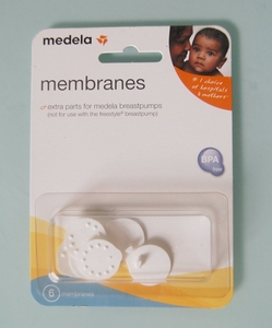 Medela Breast Pump Parts - 6 Membranes Pack (87088)
