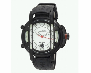 Mens Watch - Nautica Men Black Resin Watch (N27507X NMX300)