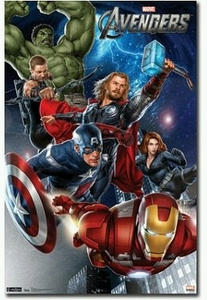 "Movie Poster of Marvel's The Avengers (22"" by 34"" portrait version)"