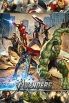 "Movie Poster of Marvel's The Avengers (36"" by 24"" Portrait version)"