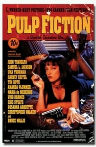 "Movie Poster - Uma Thurman in Pulp Fiction (size 24"" by 36"")"