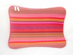 "Multi-color Stripes Motif Laptop Sleeve DESIGN (14"" inch)"
