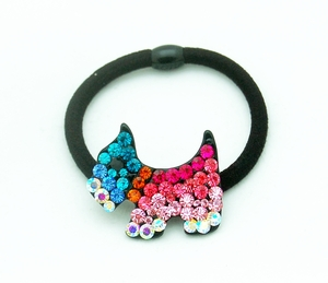 Multi-Colored Rhinestone Crystals Studded Hairband