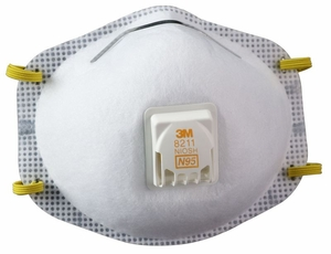 N95 Mask with Cool Valve (3M 8511)