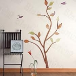 Nature Tree Motif - PVC Wall Decal Sticker