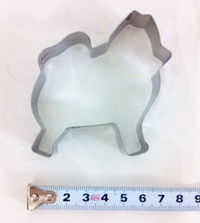 Pomeranian Dog Cookie Cutter