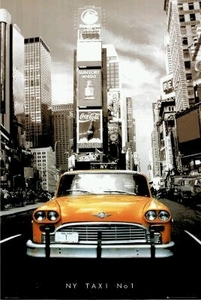 "Poster New York  (size 24"" by 36"")"