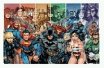 "Poster of DC Comics Superheroes (size 24"" by 36"")"