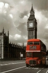 "Poster of London  (size 24"" by 36"")"