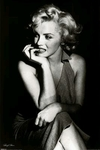 "Poster of Marilyn Monroe  (size 24"" by 36"")"