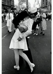 "Poster of Sailor Kissing Nurse on VJ Day (size 24"" by 36"")"
