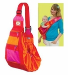 PreMaxx 2-in-1 Baby Sling Bag Carrier (orange red)