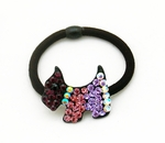 Purple Rhinestone Crystals Studded Hairband