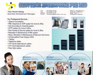 Servtech Enterprise - Consultation & Setup of PABX/Key Telephone & CCTV/Security Systems
