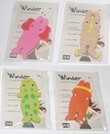 Set of 4 Cute Animal Earphones Winder