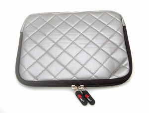 "Silver Gray Laptop Sleeve (10"" inch)"