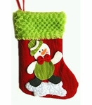 Snowman Christmas Stocking (Small, 20cm long)