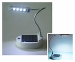 Solar Desk Lamp with 4 LED