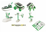Solar DIY Educational Kit - 6-in-1 Configurations