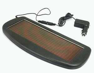 Solar Powered 12v Car Battery Trickle Charger 1.5W