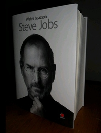 Steve Jobs by Walter Isaacson (Hardcover Edition)