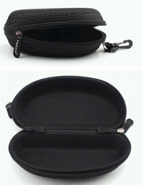 Sunglasses/Eyewear Zipper Canvas Case