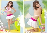 Sweet & Cute Women 3-in-1 Bikini Skirt