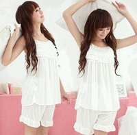 Sweet Lingerie Sleepwear (White Color)