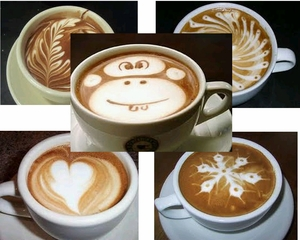 The Best Examples of DIY Coffee Art