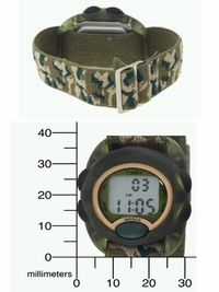 Timex Camouflage Kids Watch with Stretch Band