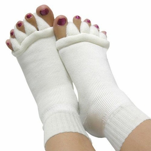 'Toe-Spread' Foot Alignment Socks