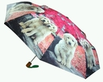 Umbrella featuring Golden Retrievers