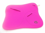 "Uniquely Shaped Pink Laptop Sleeve (10"" inch)"
