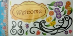 Welcome to Our Home - PVC Wall Decal Sticker