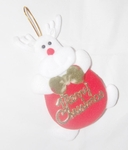 'White Reindeer' Christmas Tree Decor