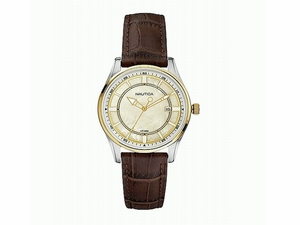 Women Watch - Nautica Women Brown Leather (N13007M NCT 500)