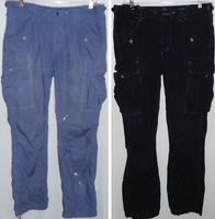 Eric Greenfield Cargo Pants Dyed Black