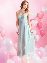 Alfred Angelo Love 7384L Strapless Bridesmaid Dress