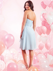 Alfred Angelo Love 7384S Strapless Bridesmaid Dress