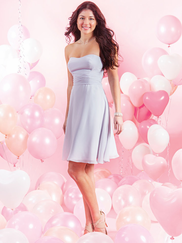Alfred Angelo Love 7386S strapless Bridesmaid Dress