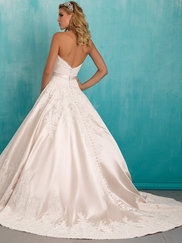 Allure 9303 Sweetheart Lace Bridal Dress
