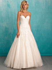 Allure 9314 Sweetheart Lace Bridal Dress
