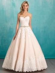 Allure 9319 Sweetheart Lace Bridal Dress
