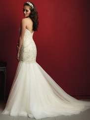 Allure Bridals Couture C362 Sweetheart Beaded Wedding Dress