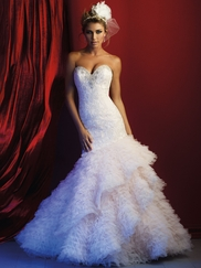 Allure Bridals Couture C372 Sweetheart Beaded Wedding Dress