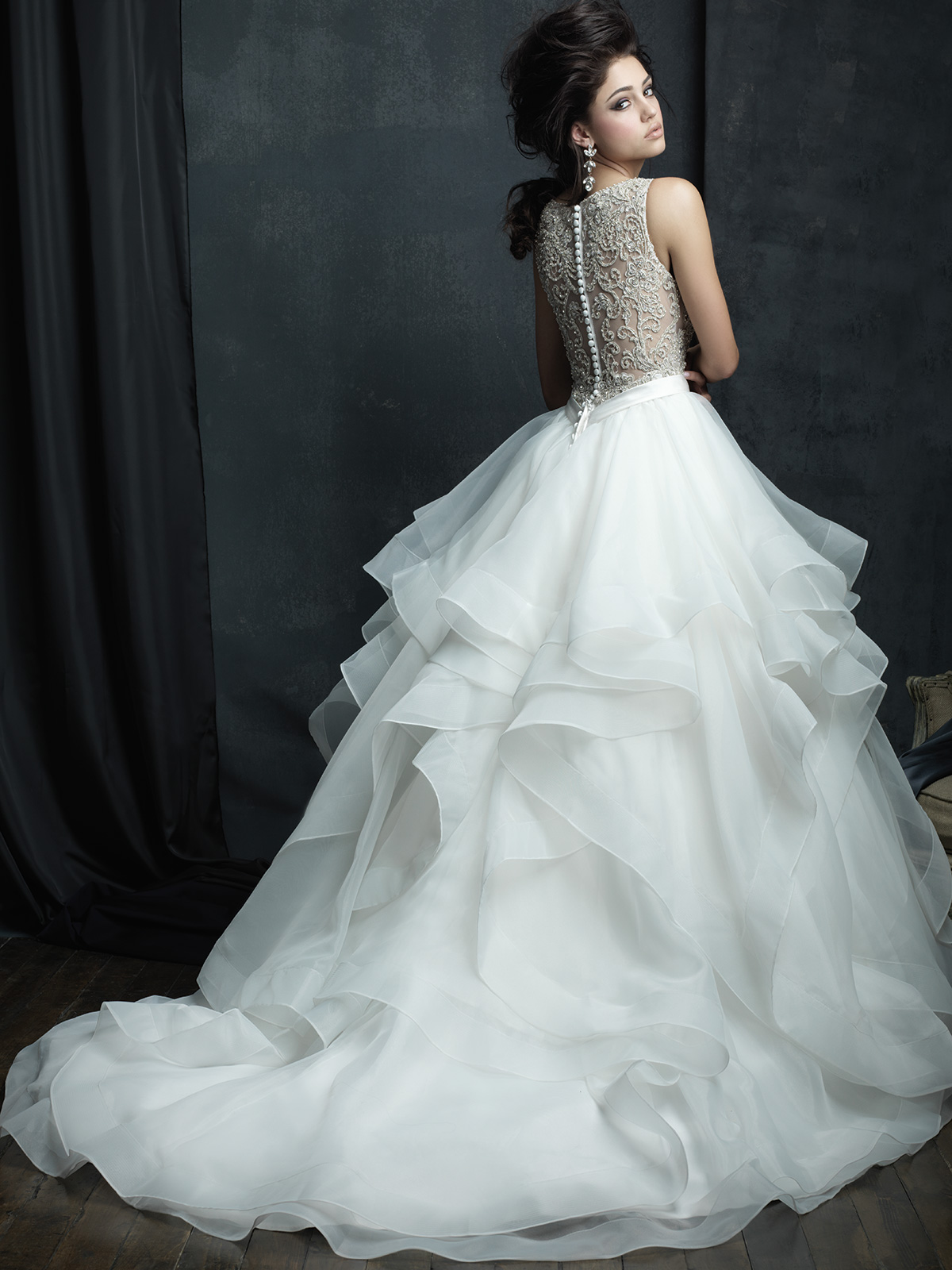 Allure Bridals Couture C380 Ball Gown Wedding Dress